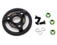 Hot Racing Traxxas 48P Hardened Steel Spur Gear (Green) (75T) | relatedproducts