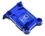 Hot Racing Traxxas X-Maxx Aluminum Upper Rear Gear Box Cover (Blue) | relatedproducts