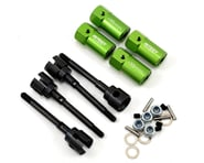 Team Integy SCX10 +15mm Extended Axle/Wheel Hub Set (Green) (4 Wheel Steering) | relatedproducts