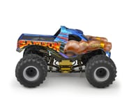 "JConcepts 2005 Chevy 1500 MT ""Samson"" Single Cab 12.5 Monster Truck Body (Clear) 