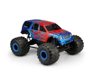 """JConcepts 2005 Ford Expedition Monster Truck Body (Clear) (12.5"""" Wheelbase) 