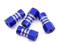 JConcepts Slash 4x4 Front & Rear Shock Mount Standoff (Blue) (4) | relatedproducts