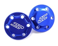 "JConcepts RC10 Classic ""Finnisher"" Wing Buttons (Blue) 