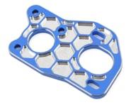 JConcepts Associated B6 'Honeycomb' 3 Gear Laydown Motor Plate (Blue)   relatedproducts