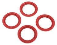 JConcepts Tribute Monster Truck Wheel Mock Beadlock Rings (Red) (4) | alsopurchased