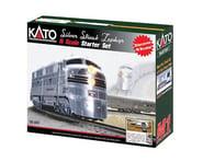 Kato N Silver Streak Zephyr Starter Set, CB&Q | relatedproducts