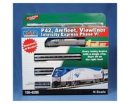 Kato N P42/Amfleet/Viewliner Set,AMTK/Intercity PhVI(4) | relatedproducts