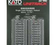 """Kato N 62mm 2-7/16"""" Straight Viaduct (2) 