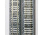 """Kato HO 369mm 14-1/2"""" Track Straight, Concrete Ties (4) 