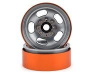 Team KNK 5 Slot 1.9 Aluminum Beadlock Wheel (Natural) (2) | product-related