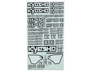 Kyosho MP10 Decal Sheet | relatedproducts