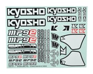 Kyosho MP9 TKI4 Decal Sheet | alsopurchased