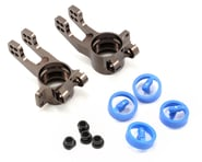 Kyosho 2mm Offset Aluminum Rear Hub Carrier Set (Gunmetal) | relatedproducts