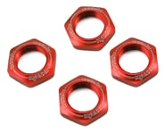 Kyosho 17mm 1/8 Serrated Wheel Nut (Red) (4) | alsopurchased