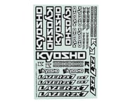 Kyosho ZX7 Decal Sheet   relatedproducts