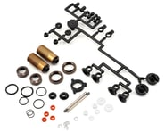 Kyosho 30mm Velvet Coated Triple Cap Threaded Big Bore Front Shock (Gunmetal) | relatedproducts