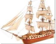 1 85 U.S. Constellation Wooden Model Ship Kit | relatedproducts