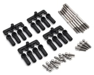 "Lunsford ""Super Duty"" Yokomo YZ-2 DTM RMW Titanium Turnbuckle Kit (6) 
