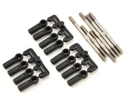 "Lunsford ""Super Duty"" Kyosho LAZER ZX6.6 Titanium Turnbuckle Kit w/Ball Cups (6) 