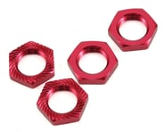 Losi 17x5mm Serrated Wheel Nut (Red) (4) | alsopurchased