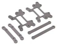 Losi Hinge Pin Brace Set, Hard Anodized: LST 3XL-E | alsopurchased