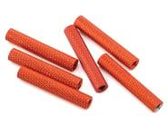 Lumenier 28mm Aluminum Textured Spacers (6) (Orange) | relatedproducts
