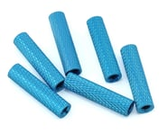 Lumenier 20mm Aluminum Textured Spacers (6) (Blue)   relatedproducts