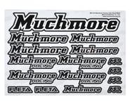 Muchmore Decal Sheet (Black) | relatedproducts
