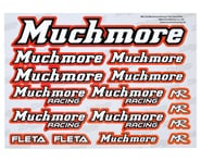 Muchmore Decal Sheet (Red) | relatedproducts