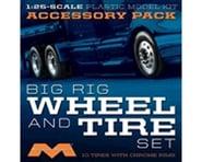 Moebius Model 1/25 Semi Wheels/Tires (10 pk) | relatedproducts