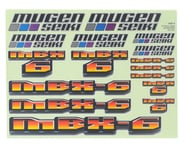 Mugen Seiki MBX6 Decal Sheet | relatedproducts