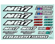Mugen Seiki MGT7 / MGT7E Decal Sheet | product-related