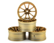 MST GTR Wheel Set (Gold) (4) (+9 Offset) | relatedproducts