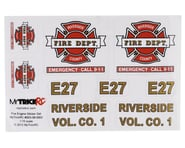 MyTrickRC Fire Truck Decal Set | relatedproducts