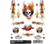 PineCar Dry Transfer Decals, Bad To The Bone | relatedproducts
