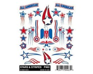 PineCar Stick-On Decal, Stars & Stripes | product-related
