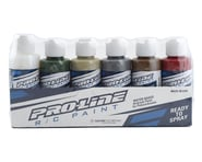 Pro-Line RC Body Airbrush Paint Military Color Set (6) | relatedproducts