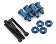 PSM Associated RC8B3 Aluminum Shock Standoff Set (Blue) (4) (+1/+4) | alsopurchased