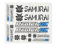 ProTek RC Samurai Sticker Sheet | product-also-purchased