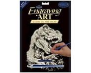 Royal Brush Manufacturing Glow/Dark Foil Engraving Art T-Rex | relatedproducts