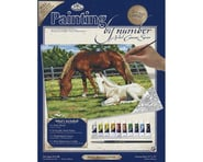 Royal Brush Manufacturing PBN Canvas Horses 11X14 | relatedproducts