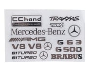RC4WD CChand TRX-4 Mercedes-Benz G-500 Steel Logo Decal Sheet | relatedproducts