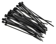 "Racers Edge 4"" Black Zip Tie Wraps (30) 