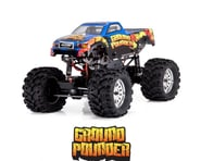 Redcat Ground Pounder 1/10 Electric RTR Monster Truck (Blue) | product-related