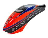 SAB Goblin 770 Sport Airbrush Canopy (Orange)   relatedproducts