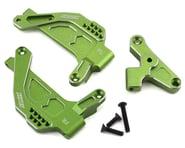 Samix SCX10 III Front Shock Plate (2) (Green) | alsopurchased