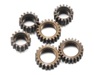 Serpent Aluminum Centax-3 Gear V2 Pinion Gear Set (6) | product-related