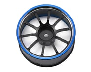 Sanwa/Airtronics M12/M12S Aluminum Steering Wheel (Blue) | relatedproducts
