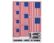 SOR Graphics Universal American Flag Decal Sheet | relatedproducts