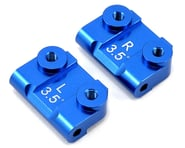 ST Racing Concepts 3.5° Aluminum Rear Suspension Block Set (Blue) (2) | relatedproducts